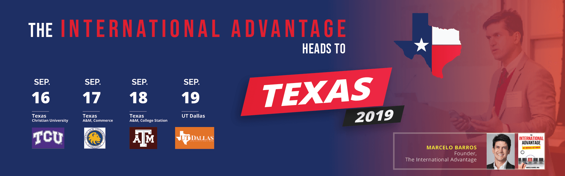 The International Advantages Heads to Texas